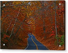 Acrylic Print featuring the photograph Country Road by Andy Lawless