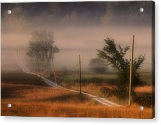 Country Road Acrylic Print by Jim Vance