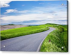 Country Road Acrylic Print by Jorg Greuel