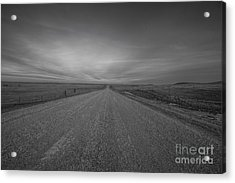A Country Road Of South Dakota Acrylic Print