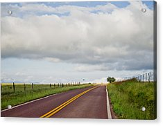 Country Road Acrylic Print by Swift Family