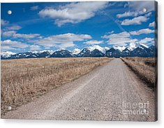 Acrylic Print featuring the photograph Country Road Take Me Home by Katie LaSalle-Lowery