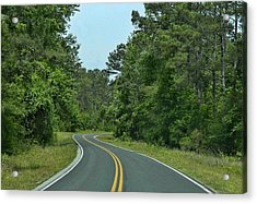 Acrylic Print featuring the photograph Country Road by Victor Montgomery