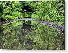 Country Roads In The City Acrylic Print by JC Findley