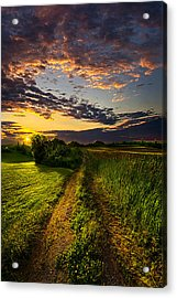 Country Roads Take Me Home Acrylic Print by Phil Koch