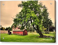 Country Scene Acrylic Print by Kathleen Struckle