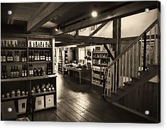 Acrylic Print featuring the photograph Country Store by Bill Howard