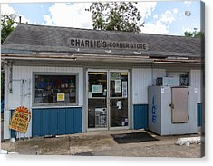 Acrylic Print featuring the photograph Country Store by Gregory Daley  PPSA
