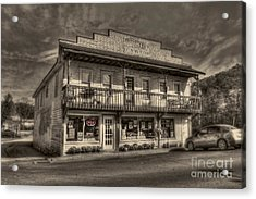 Country Store Open Acrylic Print by Dan Friend