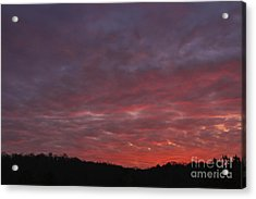 Country Sunset Acrylic Print