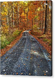Country Super Highway Acrylic Print