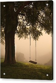 Country Swing Acrylic Print by William Schmid