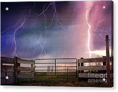 Country Thunder Acrylic Print
