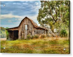 Farm - Barn - Country Time Barn Acrylic Print