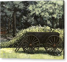 Country Wagon Acrylic Print