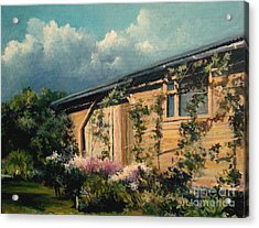 Countryside Summer Acrylic Print