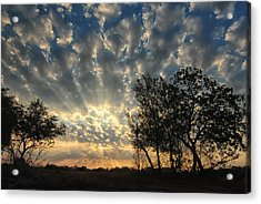 Countryside Sunrise Acrylic Print