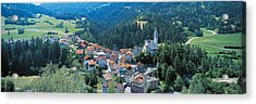 Countryside Switzerland Acrylic Print by Panoramic Images