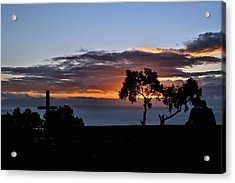 Acrylic Print featuring the photograph Couple by Michael Gordon