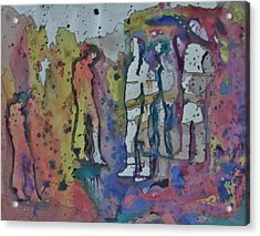 Couples Acrylic Print by Mark Greenhalgh