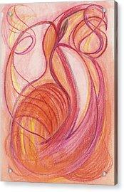 Courage's Nourishment Acrylic Print