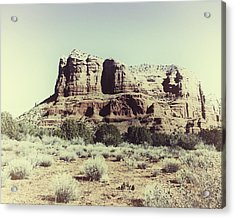 Acrylic Print featuring the photograph Courthouse Butte I by Gigi Ebert