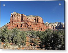 Courthouse Butte Acrylic Print