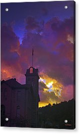 Courthouse Acrylic Print by Kat Besthorn