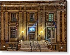 Courthouse Steps Acrylic Print