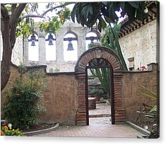 Courtyard Gateway Acrylic Print