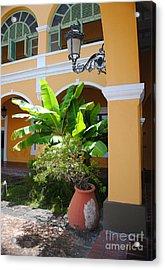 Courtyard Old San Juan Acrylic Print