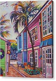 Courtyard Palm Acrylic Print