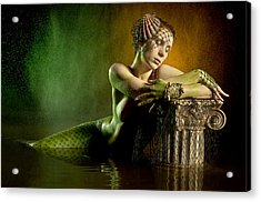 Couture Mermaid Acrylic Print by Adam Chilson