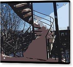 Couverture D'hiver Acrylic Print