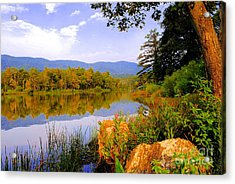 Cove Lake State Park  Acrylic Print by Frozen in Time Fine Art Photography