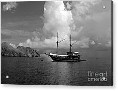 Acrylic Print featuring the photograph Cove  by Sergey Lukashin