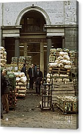 Covent Garden Market London 1973 Acrylic Print by David Davies