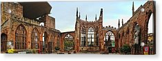 Coventry Cathedral Ruins Panorama Acrylic Print