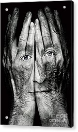 Cover Thy Faces Acrylic Print