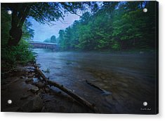 Covered Bridge  Acrylic Print by Everet Regal