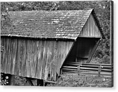 Covered Bridge Acrylic Print by Tara Potts