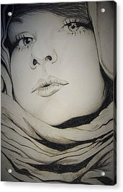 Covered Acrylic Print by Kimberly Besaw