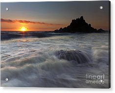 Covered Acrylic Print by Mike  Dawson