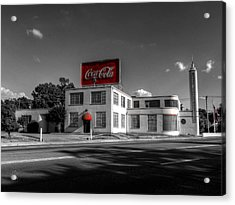 Covington Tn - Rose Construction 001 Acrylic Print by Lance Vaughn