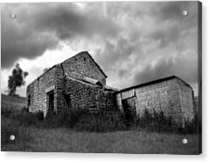 Acrylic Print featuring the photograph Cow Shed by Stewart Scott
