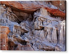 Cowboy In The Canyon Acrylic Print by Ivete Basso Photography