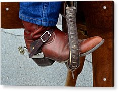 Cowboy Swagg Acrylic Print by Kelly Kitchens