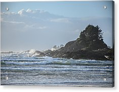 Cox Bay Afternoon Waves Acrylic Print