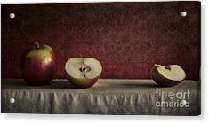 Cox Orange Apples Acrylic Print by Priska Wettstein