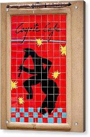 Coyote Cafe Acrylic Print